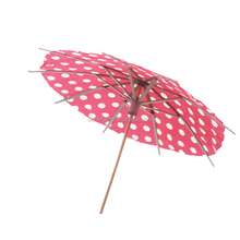 Party Decoration Wooden Colourful Umbrella Cocktail Pick