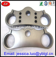ISO/SGS passed cnc machined precision part,cnc alloy triple clamp motorcycle parts,China cnc micro machining part