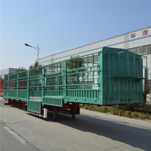 Hot sale factory direct price stake semi trailer