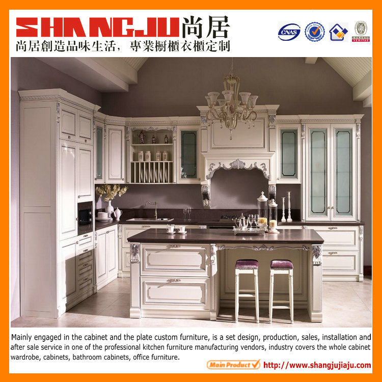 2016 Fashion White Italian Kitchen Cabinet