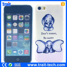 Dropshipping Sales Colored Drawing Ultra-thin PC Back Case for iPhone 5S