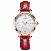 High quality silicon watch lady watch for American and European people