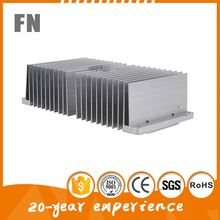 lamp aluminum heat sinks for lighting accessories CNC machining product