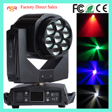 Pro Lighting Dot Controlled Mini Bee Eye K5 DMX Wash Zoom 4in1 RGBW 7x15w LED Moving Head