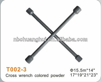 Cross wrench color powder 17*19*21*23