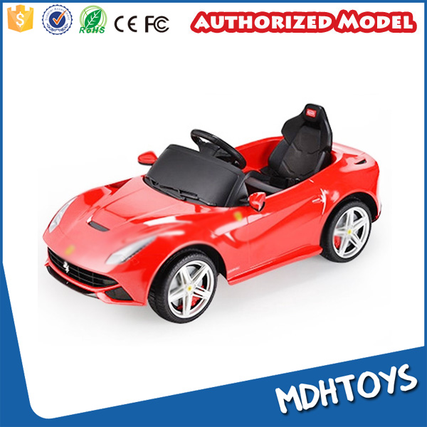 1/4 scale ride on cars 12v for kids licensed model car remote control