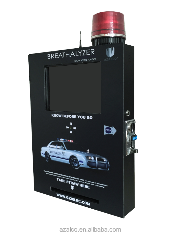 Automatic breathalyzer alcohol tester,quick response and resume