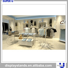 Good looking shop for baby clothes display stand gondola
