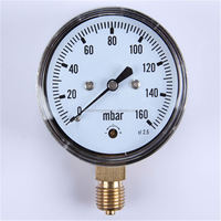Durable Light Weight Easy To Read Clear wika bourdon tube pressure gauge type 111.12