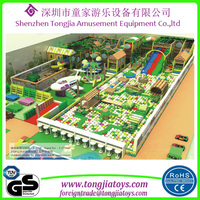 Tongjia Children Entertainment Large Indoor Playground