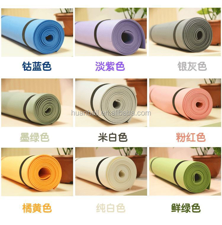 Multifunction Fitness Equipments Hanging Type EVA Yoga Mat
