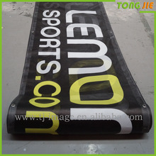 Polyester Flags&Banners Material and Hanging Style banner scrolling flag, Banner Roll