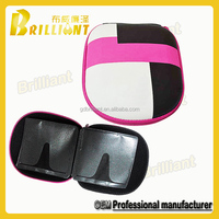 professional top portable cd vcd dvd clamshell carrying case