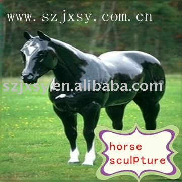 Newest horse sculpture/resin model /resin fiberglass