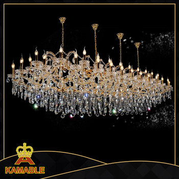 High quality hotel glass crystal lamp