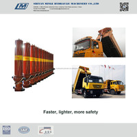 dump truck hoist telescopic hydraulic tipping system,truck parts manufacturer