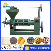 China promotion homemade spiral essential oil press