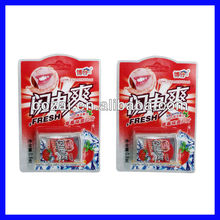 Promotional mint flavor paper candy