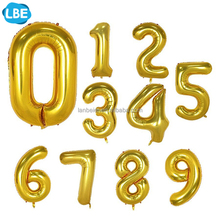 Wholesale Party Decoration Foil Number Balloons