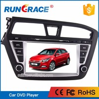 Hosttest touch screen audio stereo dashboard hyundai i20 car dvd player with gps navigation