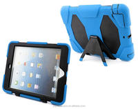 For iPad mini 2 3 4 retina smart cover high impact resistant hybrid silicone case
