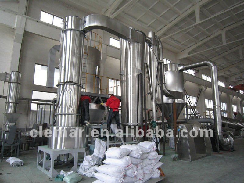 cassava flash dryer