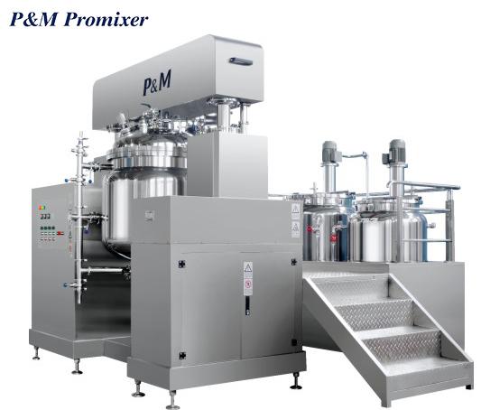 High Speed Dispersing Machine Disperser vacuum disperser chemical mixing equipment