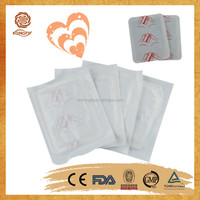 Direct factory price medical suppliers warm body heat patch