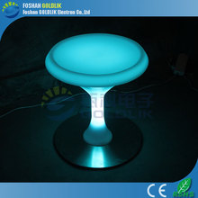 GLACS led music dancing furniture China Led Furniture Manufacturer Patio Led Sofa/Led Bar Table/Nightclub Led Outdoor Furniture