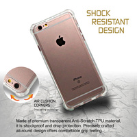 Hybrid Bumper Shockproof Clear Cell Phone Case For iPhone 6/plus