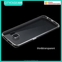 city&case soft transparent phone case for samsung galaxy s7 edge