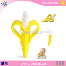 Wholesale Novelty Smart Baby Banana toothbrush teethers For Training