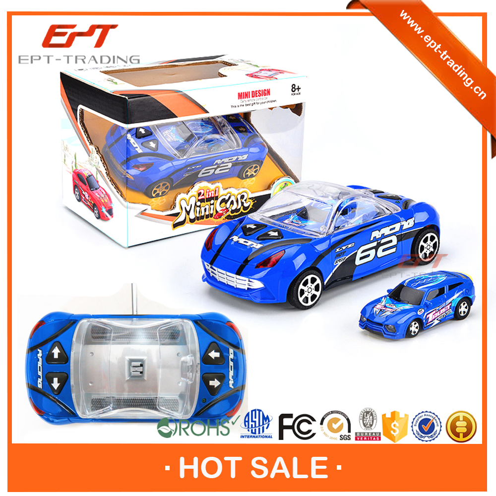 Wholesale kids 2 in 1 cheap long distance remote control car for sale