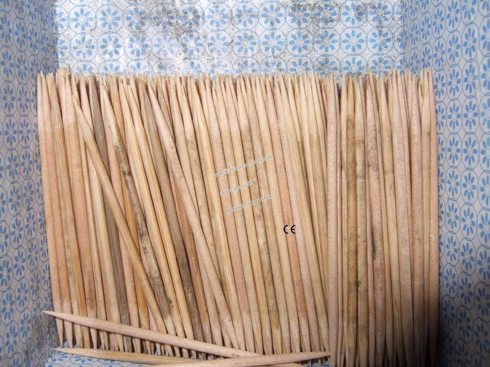 2mm diameter toothpick stick making machine/wooden cotton bud stick making machine India