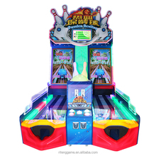 2018 New lottery ticket coin operated amusement bowling machine cricket bowling machine