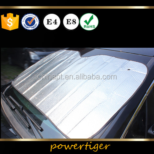 Portable Windshield <strong>Sun</strong> Shade For Front Window/Car Sunshade with PE bubble material