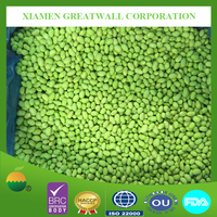 Certificated IQF frozen soy bean meat /peeled/shelled edamame