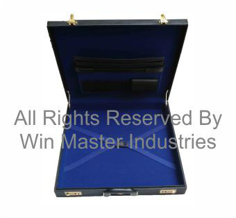 Grand Rank Size Regalia Case in Real Leather