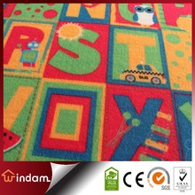 cartoon printed polyester children play mat