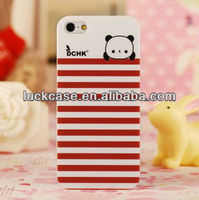 New plastic panda case for iphone 5s/iphone 5 iml printing Factory supply best price
