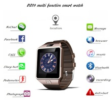 Promotion gift DZ09 Smartwatch Bluetooth Android Dual Sim Wrist Smart Watch