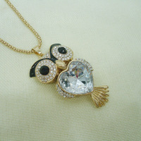 Latest design brand name fashion costume jewelry crystal necklace chain