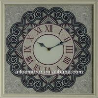 Fashionable cheap kids wall clock mechanical clock wooden clock kits