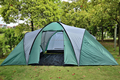 Hot Large Family Outdoor Camping Tents With 3 Living Rooms