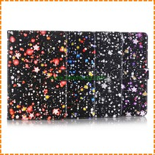 New Style Painting star map flip pu Leather Stand Case For Ipad Mini 4