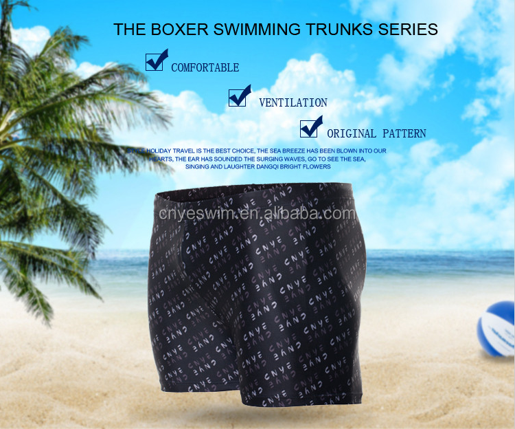 CNYE man's sexy swimsuit men wearing swimwear mens swimming trunks design your own mens swimwear CN-1501