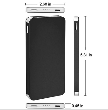 New products 4000mAh Ultra-thin polymer power bank phone charger for wholesale for iphone 6