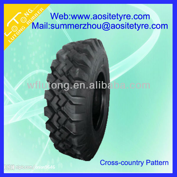 durable cross-country tyre 900R16