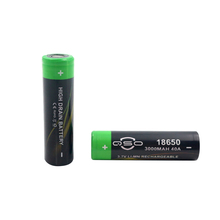 li-ion battery 18650 3000mah 3.7v 40a rechargeable battery for electric bike/bicycle