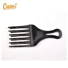 ningbo factory plastic colorful plastic large afro hair comb